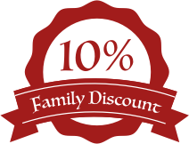 10% Family Discount