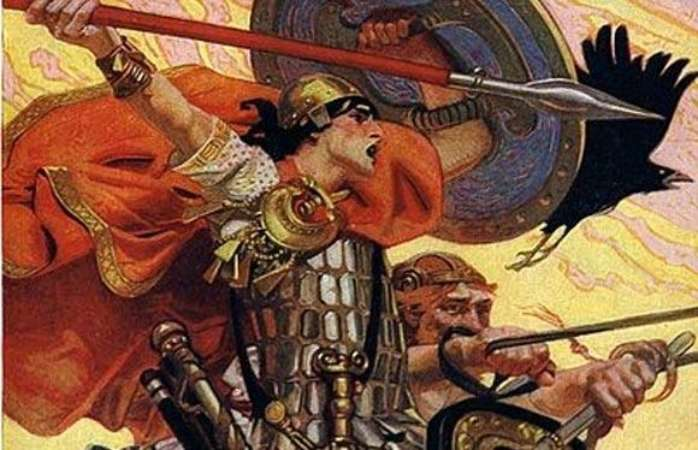 Irish Legend Of Cu Chulainn