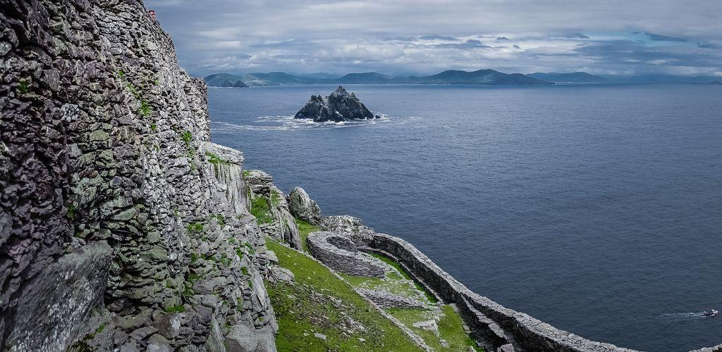 Medium Ireland Little Skellig Seen From Skellig Michael Remainings Monastry Cdiederik 06543
