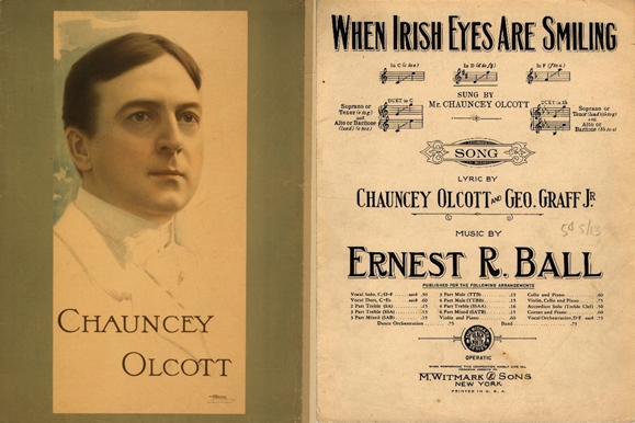 Feature Chauncey Olcott When Irish Eyes Are Smiling