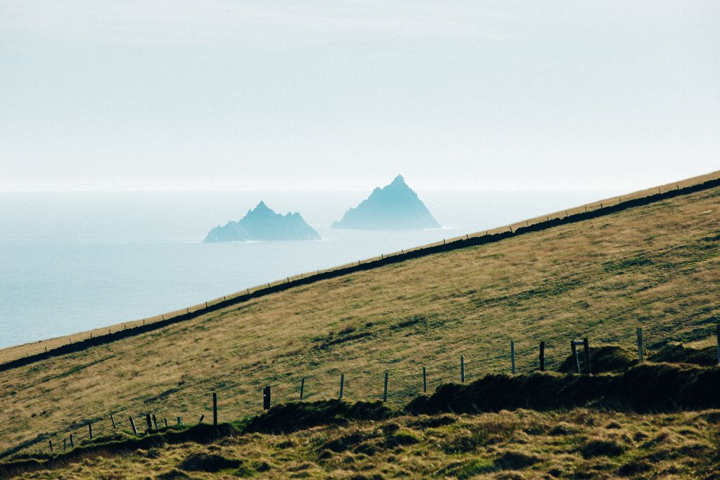 Medium View Of Skelligs From Coomanaspic Discovery Point Co Kerry 4